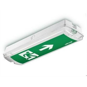 8w mount ceiling led exit sign led emergency exit Lights 10pcs/lot  Input voltage :220-240VAC CE,ROHS,Emer 3hrs DHL Free freight