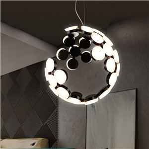 LED Nordic post-modern designers droplight sitting room dining-room creative personality wave light