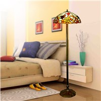 Creative Tiffany color glass floor lamp luxury interior lighting lighting floor lamps