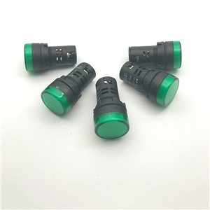 50Pcs/Lot Mixture  Yellow/Blue/White/Red/Green AD16-22DS LED Indicator Lights Signal Pilot Lamp 12/24/220/380V