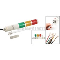 AC110V Yellow Red Green Buzzer Indicator Light