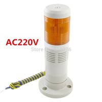 AC220V Industrial Yellow Signal Tower Light