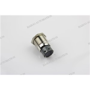 10pcs/lot 19mm led indicator lamp 220v metal indicator lamp price waterproof IP67 metal indicator IK09