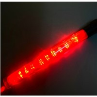 PVC ABS Yellow Green White Red Blue Copious LED Traffic Baton Road Warning Bar Staff Glow Stick Lifesaving Stick