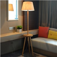 Modern simple floor lamp living room bedroom dining room dining room new Chinese style creative LED vertical floor lamp lighting