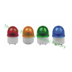 AC220V LED Strobe Flash Warning Light Firemen Emergency with buzzer Red Blue Green Yellow S-72