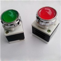 AD11-2540-1G Indicator Lights Signal Lamp Power Switch Button AC24V220V380V Red/Green/Yellow