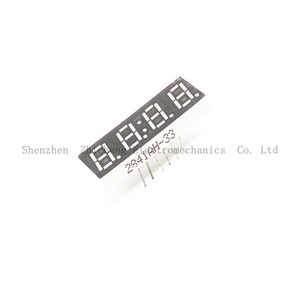 10pcs 0.28inch 4 Digit Red LED Display Common Cathode with Time Display