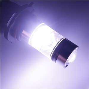 Brand New 100W Car Fog Lights DC 12V-24V 2pcs 9005 HB3 H10 6000K  20 LED Chips Projector Fog Driving Light Bulb White