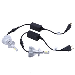 Wholesale 2pcs H7 LED Car Headlight 4400LM Super Bright 64W LED Car Bulb 6000K White Chips Auto Fog Lamps