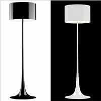 Spun Light F Floor Lamp Standing Lighting Fixture for Living Room Bedroom Indoor Home