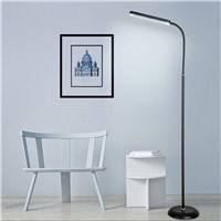 Black /white Modern Simple 8W LED Floor Standing Lamp Bedside Floor Lamp Standing Floor Light Reading Lamp