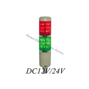 DMWD DC12V/24V Safety Stack Lamp Red Green Flash Industrial Tower Signal warning Light LTA-205 Red and green indicator light