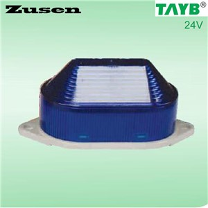 Zusen TB40 24V BLUE led Signal Warning Light LED Lamp small Flashing Light