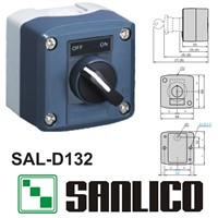 waterproof  control box push button switch station  SAL(LA68H XAL)-D132 rotary switch selector switch 2-position standard handle