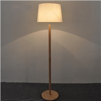 Solid Wooden floor lights for living room tatami foot standing lamp Japanese living room bedroom study bedside floor lamps ZAG