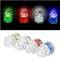 New LED Deep Drop Underwater Diamond Fishing Flashing Light Bait Lure Squid Strobe Ultra-Transparent Acrylic Shell