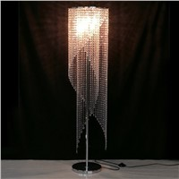 led Fashion modern crystal Floor lamp living room lights bedroom lamps crystal French Modern stand Lights Crystal Abajur cristal