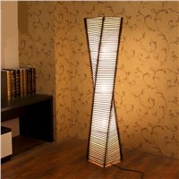 Chinese style bamboo floor lamp creative living room coffee table study bamboo new classical decorated floor light ZA1027956