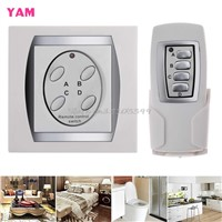 4-Channel ON/OFF Control Switch Power Digital Wireless Remote Control Light Lamp #G205M# Best Quality