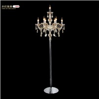 crystal Floor lamp living room lights Floor Lamps Fashion modern crystal lamp lights the living room bedroom Floor lights
