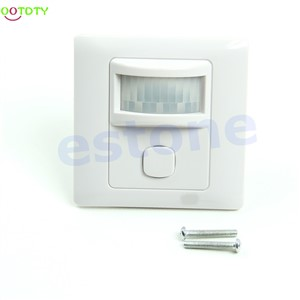 IR Infrared Motion Sensor Automatic Light Lamp Switch 200V-250V AC New  828 Promotion