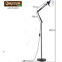Qiseyuncai mechanical floor lamp home decorative light fixture lamp Lighting E27 socket vintage stand metal lighting