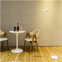 175CM Modern simple black and white LED floor lamp living room bedroom lamps home decorations lights