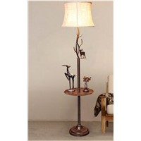 Moose floor lamp. Living room creative furniture sofa tea table lamp. Bedroom bedside table lamp