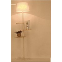 Real wood floor lamp... An American creative floor lamp