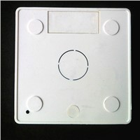 86# Wall pad Cassette Universal White Wall Mounting Box for Wall Switch and and socket stair step light lamp mounting box