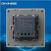 Newest 86x86mm Wall Mount Voice Light Sensor Switch Sound & Light Controlled Delay Switch K2-041