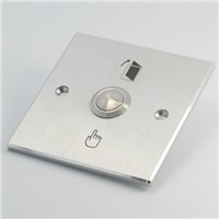 ELEWIND Door bell push button with rectangular silver panel(PM191B-10/S)