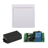 AC 110V 220V Receiver 86 Wall Panel RF Wireless Remote Control Switch Transmitter For Hall Bedroom Ceiling Lights Wall Lamps TX