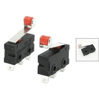 THGS 10 Pcs Mini Micro Limit Switch Roller Lever Arm SPDT Snap Action LOT