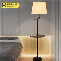 2017 The American minimalist NEW study the living room bedroom lamp vertical floor lamp table lamp remote storage tray