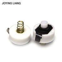 JOYING LIANG 2PCS Selling L134 Flashlight Repair Parts Tail Switch Q5 LED Torch Spring Switch