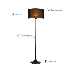2017 new Modern Floor lamp living room standing lamp bedroom floor light for home lighting floor stand lamp