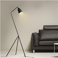 Nordic contracted personality modern sitting room bedroom study Wrought iron Floor lamp