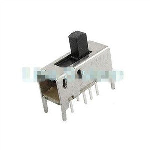 10pcs 7mm 5mm High Knob 8 Pin 3 Position 2P3T DP3T Vertical Slide Switch 0.5A 50V DC SS23D03-G7 SS23D03-G5
