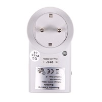 1 Pack US 120V/60Hz EU 230V/50Hz 10A Remote Control Wireless Power Outlets Light Switch Socket