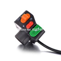 "1PCS Headlight/Horn/Turn Signal Switch For Chinese and Japanese-manufactured 7/8"" handlebars Motorcycle Electric Bike Scooter"