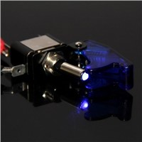 High Quality toggle switch 20A 12V ON / OFF switch with LED display NEW + dust cover