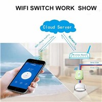 Brand New 5V DC 4-WAY WIFI Light Switch, 433.92mhz Wireless RF Remote Control Switches RF Controlled by Phone APP