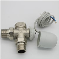 230V  Normally Open  Normally close  Electric Thermal Actuator for underfloor heating  three way  valve DN15-DN25