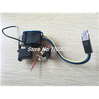 FA08A-12  DC 7.2-24V 12A Plastic Shell Cordless Drill Trigger Switch