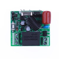 315MHZ Universal Wireless Remote Control AC180-240V 1 Channel One Way Relay Module Switch With Double Key Remote Control