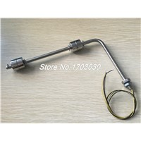 Stainless Steel Double Balls Right Angle Water Level Sensor Float Switch