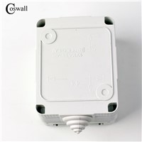 CE Certification Waterproof Dust-proof Outdoor External Wall Switch 1 Gang Push Button Light Switch