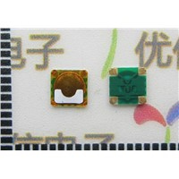 4*4*0.3mm MINI SMD membrane switch light touch switch Push button switch